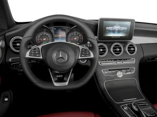 2018 Mercedes-Benz C-Class Pictures C-Class C 300 4MATIC Cabriolet photos driver's dashboard