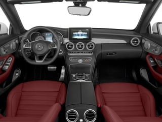 2018 Mercedes-Benz C-Class Pictures C-Class C 300 4MATIC Cabriolet photos full dashboard