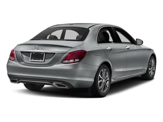 2018 Mercedes-Benz C-Class Pictures C-Class C 300 Sedan photos side rear view