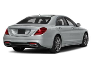 2018 Mercedes-Benz S-Class Pictures S-Class S 450 Sedan photos side rear view