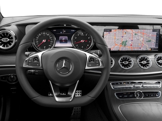 2018 Mercedes-Benz E-Class Pictures E-Class E 400 4MATIC Coupe photos driver's dashboard