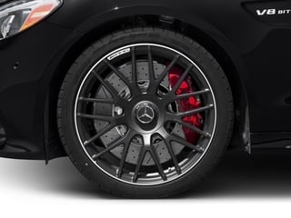 2018 Mercedes-Benz C-Class Pictures C-Class AMG C 63 S Sedan photos wheel