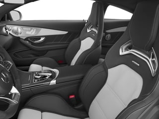 2018 Mercedes-Benz C-Class Pictures C-Class AMG C 63 S Coupe photos front seat interior