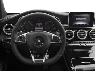 2018 Mercedes-Benz C-Class Pictures C-Class AMG C 63 Coupe photos driver's dashboard