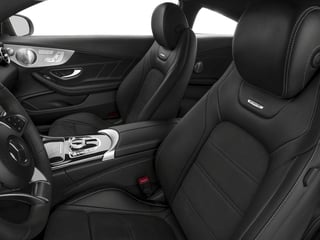 2018 Mercedes-Benz C-Class Pictures C-Class AMG C 63 Coupe photos front seat interior