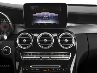 2018 Mercedes-Benz C-Class Pictures C-Class AMG C 63 Coupe photos stereo system