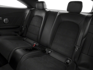 2018 Mercedes-Benz C-Class Pictures C-Class AMG C 63 Coupe photos backseat interior
