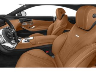 2018 Mercedes-Benz S-Class Pictures S-Class AMG S 63 4MATIC Sedan photos front seat interior