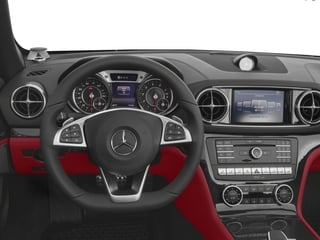 2018 Mercedes-Benz SL Pictures SL SL 450 Roadster photos driver's dashboard