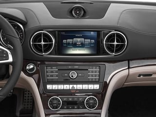 2018 Mercedes-Benz SL Pictures SL SL 550 Roadster photos stereo system
