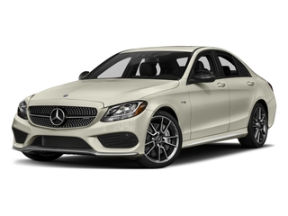 2018 Mercedes-Benz C-Class Pictures C-Class AMG C 43 4MATIC Sedan photos side front view