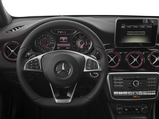 2018 Mercedes-Benz CLA Pictures CLA AMG CLA 45 4MATIC Coupe photos driver's dashboard