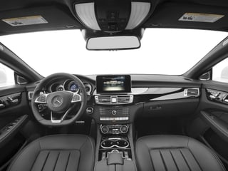 2018 Mercedes-Benz CLS Pictures CLS CLS 550 4MATIC Coupe photos full dashboard