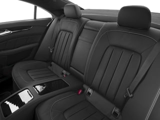 2018 Mercedes-Benz CLS Pictures CLS CLS 550 4MATIC Coupe photos backseat interior
