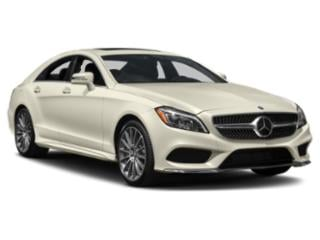 2018 Mercedes-Benz CLS Pictures CLS Sedan 4D CLS550 V8 Turbo photos side front view