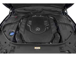 2018 Mercedes-Benz S-Class Pictures S-Class S 560 4MATIC Coupe photos engine