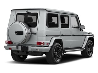 2018 Mercedes-Benz G-Class Pictures G-Class G 550 4MATIC SUV photos side rear view