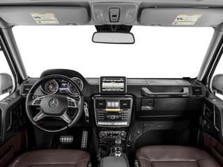 2018 Mercedes-Benz G-Class Pictures G-Class G 550 4MATIC SUV photos full dashboard