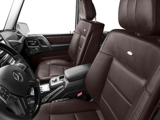 2018 Mercedes-Benz G-Class Pictures G-Class G 550 4MATIC SUV photos front seat interior