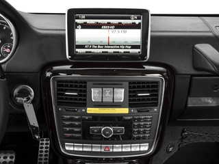 2018 Mercedes-Benz G-Class Pictures G-Class G 550 4MATIC SUV photos stereo system
