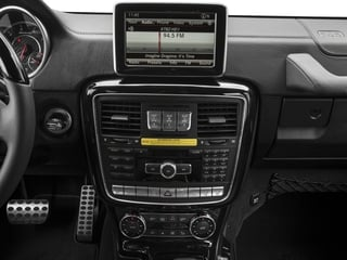 2018 Mercedes-Benz G-Class Pictures G-Class AMG G 63 4MATIC SUV photos stereo system