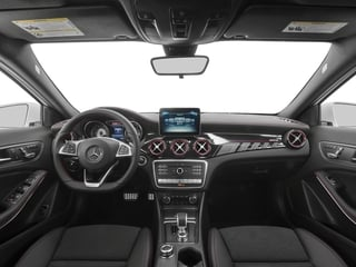 2018 Mercedes-Benz GLA Pictures GLA AMG GLA 45 4MATIC SUV photos full dashboard