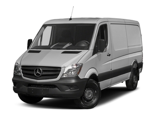 2018 Mercedes-Benz Sprinter Cargo Van Pictures Sprinter Cargo Van 2500 High Roof V6 170 Worker RWD photos side front view