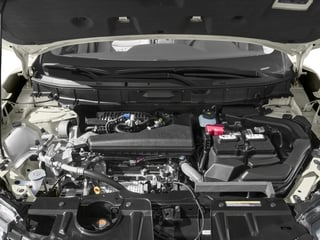 2018 Nissan Rogue Pictures Rogue Utility 4D SV 2WD I4 photos engine