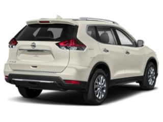 2018 Nissan Rogue Pictures Rogue Utility 4D SV 2WD I4 photos side rear view