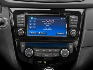 2018 Nissan Rogue Pictures Rogue FWD SL Hybrid photos stereo system