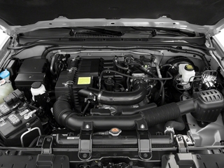 2018 Nissan Frontier Pictures Frontier King Cab S 2WD photos engine