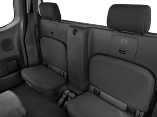 2018 Nissan Frontier Pictures Frontier King Cab S 2WD photos backseat interior