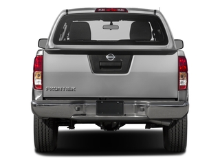 2018 Nissan Frontier Pictures Frontier Crew Cab S 2WD photos rear view