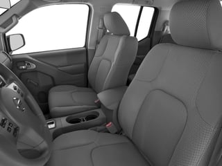 2018 Nissan Frontier Pictures Frontier Crew Cab S 2WD photos front seat interior