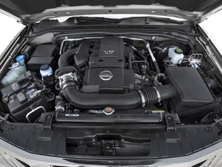 2018 Nissan Frontier Pictures Frontier Crew Cab S 2WD photos engine