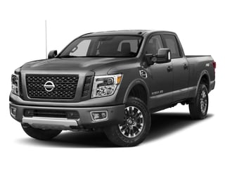 2018 Nissan Titan XD Pictures Titan XD Crew Cab PRO-4X 4WD photos side front view