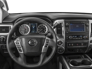 2018 Nissan Titan XD Pictures Titan XD 4x4 Gas King Cab PRO-4X photos driver's dashboard