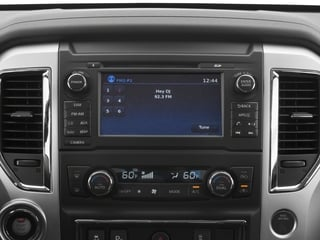 2018 Nissan Titan XD Pictures Titan XD 4x2 Diesel King Cab SV photos stereo system