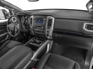 2018 Nissan Titan XD Pictures Titan XD 4x4 Gas King Cab PRO-4X photos passenger's dashboard