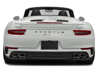 2018 Porsche 911 Pictures 911 Turbo S Cabriolet photos rear view