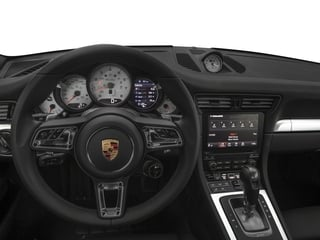 2018 Porsche 911 Pictures 911 Turbo S Cabriolet photos driver's dashboard