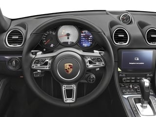 2018 Porsche 718 Boxster Pictures 718 Boxster GTS Roadster photos driver's dashboard
