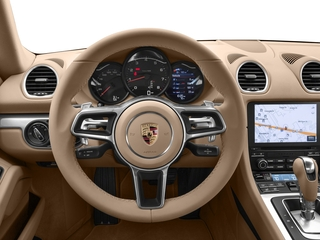 2018 Porsche 718 Cayman Pictures 718 Cayman Coupe photos driver's dashboard