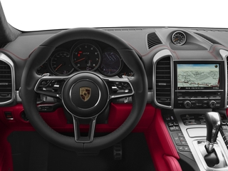 2018 Porsche Cayenne Pictures Cayenne Utility 4D GTS AWD V6 Turbo photos driver's dashboard