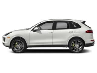 2018 Porsche Cayenne Pictures Cayenne S Platinum Edition E-Hybrid AWD photos side view