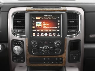 2018 Ram Truck 1500 Pictures 1500 Longhorn 4x2 Crew Cab 6'4 Box *Ltd Avail* photos stereo system