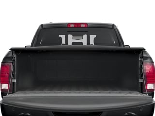 2018 Ram Truck 1500 Pictures 1500 Night 4x2 Quad Cab 6'4 Box *Ltd Avail* photos open trunk