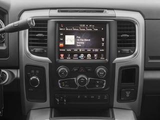 2018 Ram Truck 3500 Pictures 3500 Big Horn 4x4 Mega Cab 6'4 Box photos stereo system