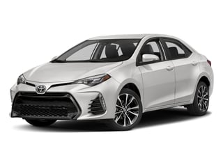 2018 Toyota Corolla Pictures Corolla Sedan 4D SE I4 photos side front view