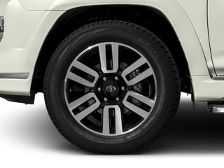 2018 Toyota 4Runner Pictures 4Runner Utility 4D Limited 4WD V6 photos wheel